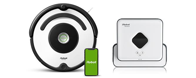 Roomba 675 & Braava 390t banner